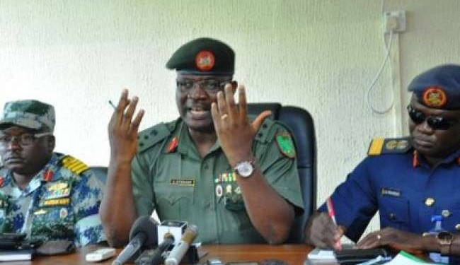 General Officer Commanding the Nigerian Army 1st Division in Kaduna, Adeniyi Oyebade
