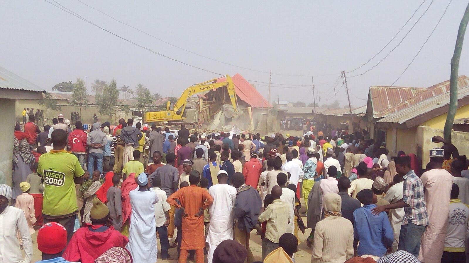 Zakzaky, Mother Properties Demolished