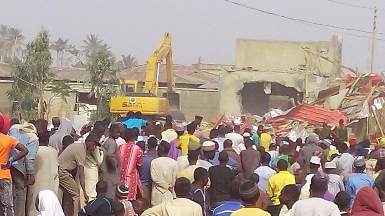 Zakzaky Homes Demolished