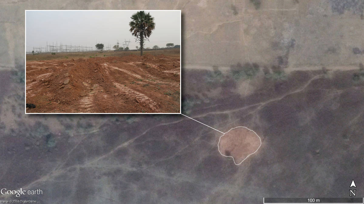Amnesty Int. Satelite Images Of Mando mass Grave