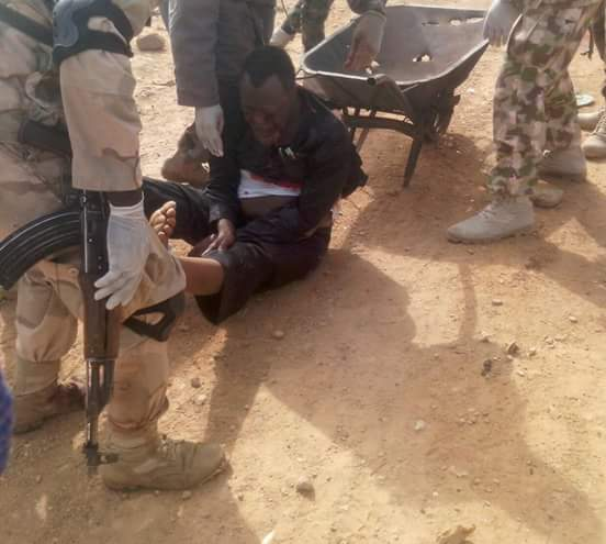 Zakzaky Loaded In Wheelbarrow