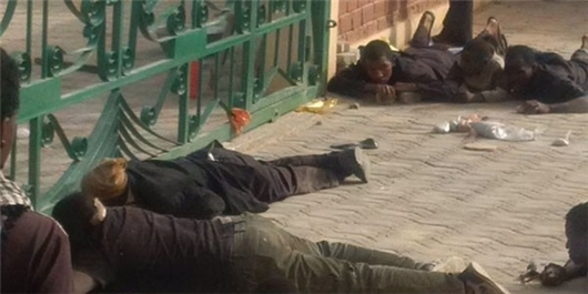 Youth Lay On Ground In Hussainiyah Before They Were Killed