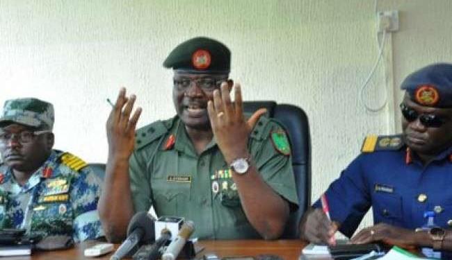 General Officer Commanding the Nigerian Army 1st Division in Kaduna, Adeniyi Oyebade