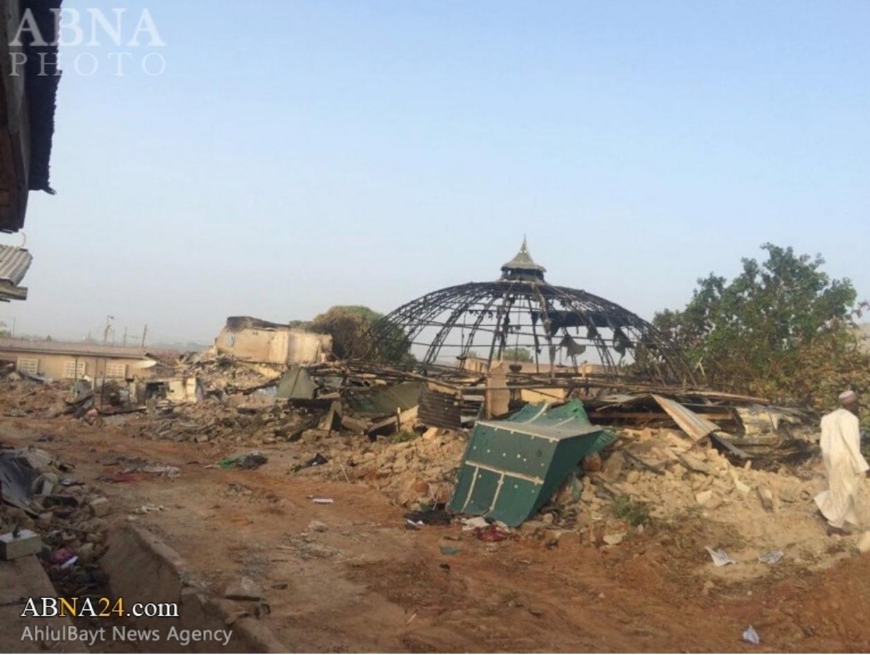 Zakzaky House Raised To Ground