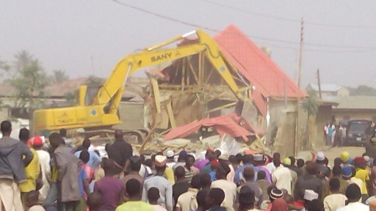 Zakzaky Homes Demolished