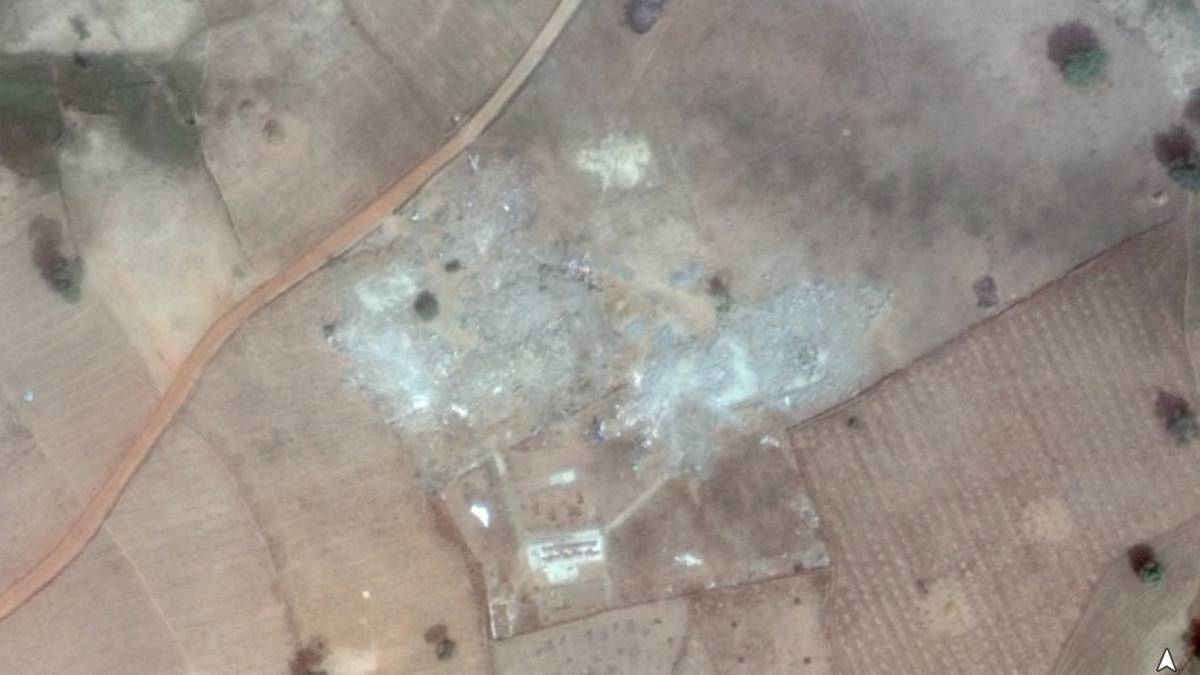 Amnesty Int. Satelite Images